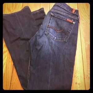 7 For all Mankind Flare leg jeans size 29